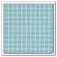 Gulfstone Quartz Aquamarine glitter tiles 2.5x2.5cm