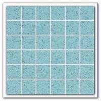 Gulfstone Quartz Aquamarine glitter tiles 4.7x4.7cm