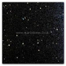 Gulfstone Quartz Pearl white and Black Opal glitter tiles 30x30cm
