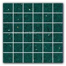 Gulfstone Quartz Emerald green glitter tiles 4.7x4.7cm
