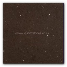 Gulfstone Quartz Mocha brown glitter tiles 40x40cm