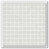 Gulfstone Quartz Pearl white glitter tiles 2.5x2.5cm