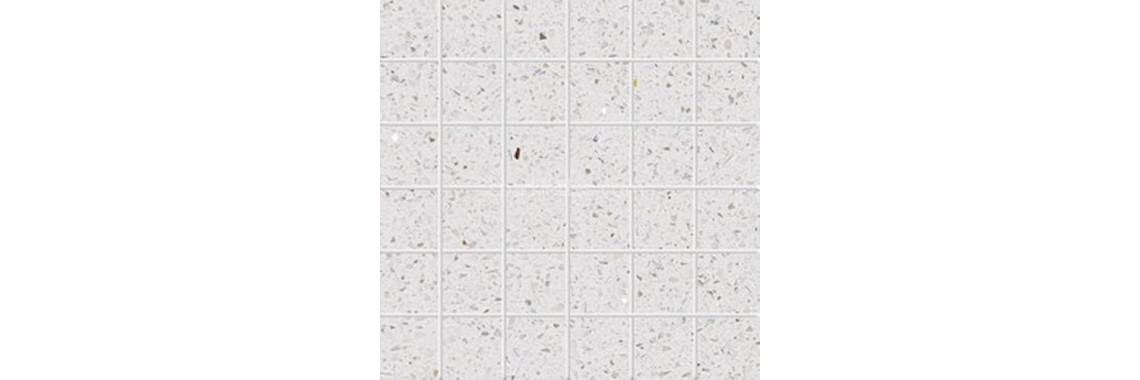 Pearl white sparkly tile