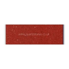 Gulfstone Quartz Ruby red glitter tiles 150x250cm