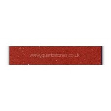 Gulfstone Quartz Ruby red glitter tiles 15x7.5cm