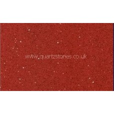 Gulfstone Quartz Ruby red glitter tiles 30x60cm