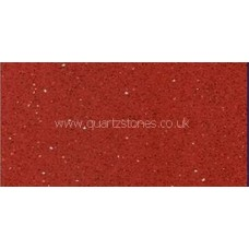 Gulfstone Quartz Ruby red glitter tiles 60x40cm
