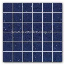 Gulfstone Quartz Sapphire glitter tiles 4.7x4.7cm
