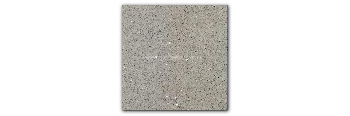 Silver grey sparkly tile