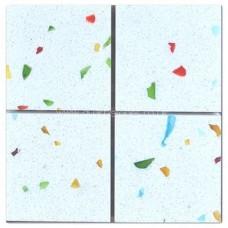 Gulfstone Quartz Tutti Frutti glitter tiles 4.7x4.7cm