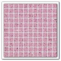 Gulfstone Quartz Violet glitter tiles 2.5x2.5cm